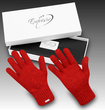 Gants Subzero Winter red
